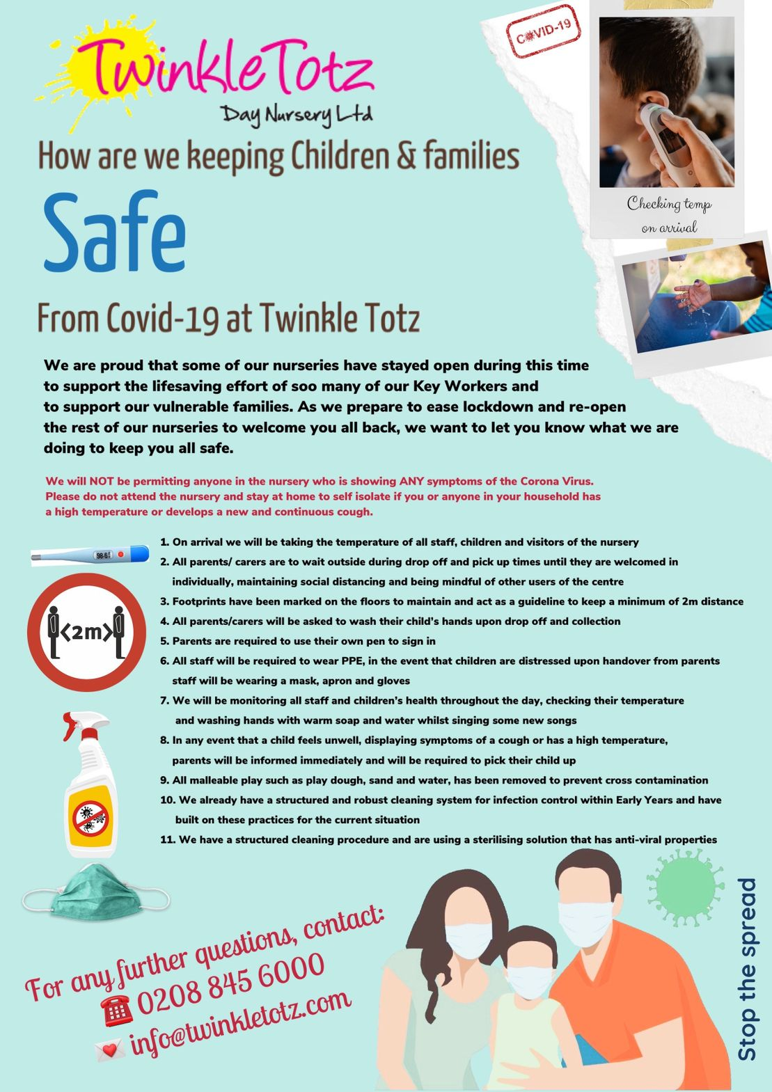 Staying Safe Poster